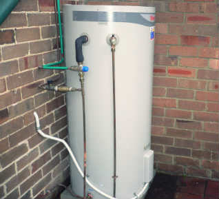 Hot water system installation by Ace Plumbers Gold Coast
